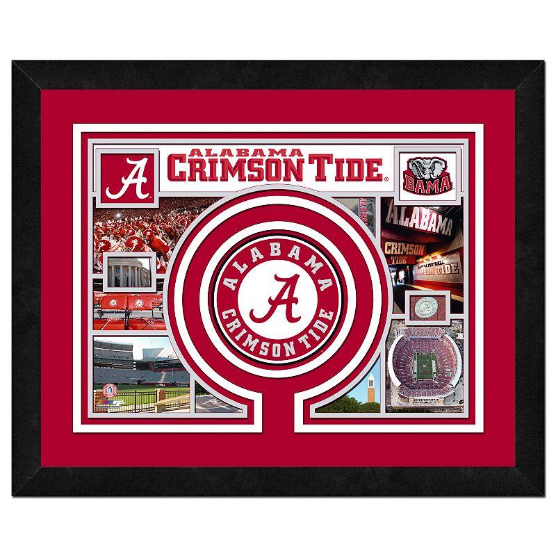 Alabama crimson tide decor kohl 39 s for Alabama football wall mural