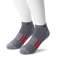 Men's adidas 2 pkClimalite Low-Cut Performance Socks
