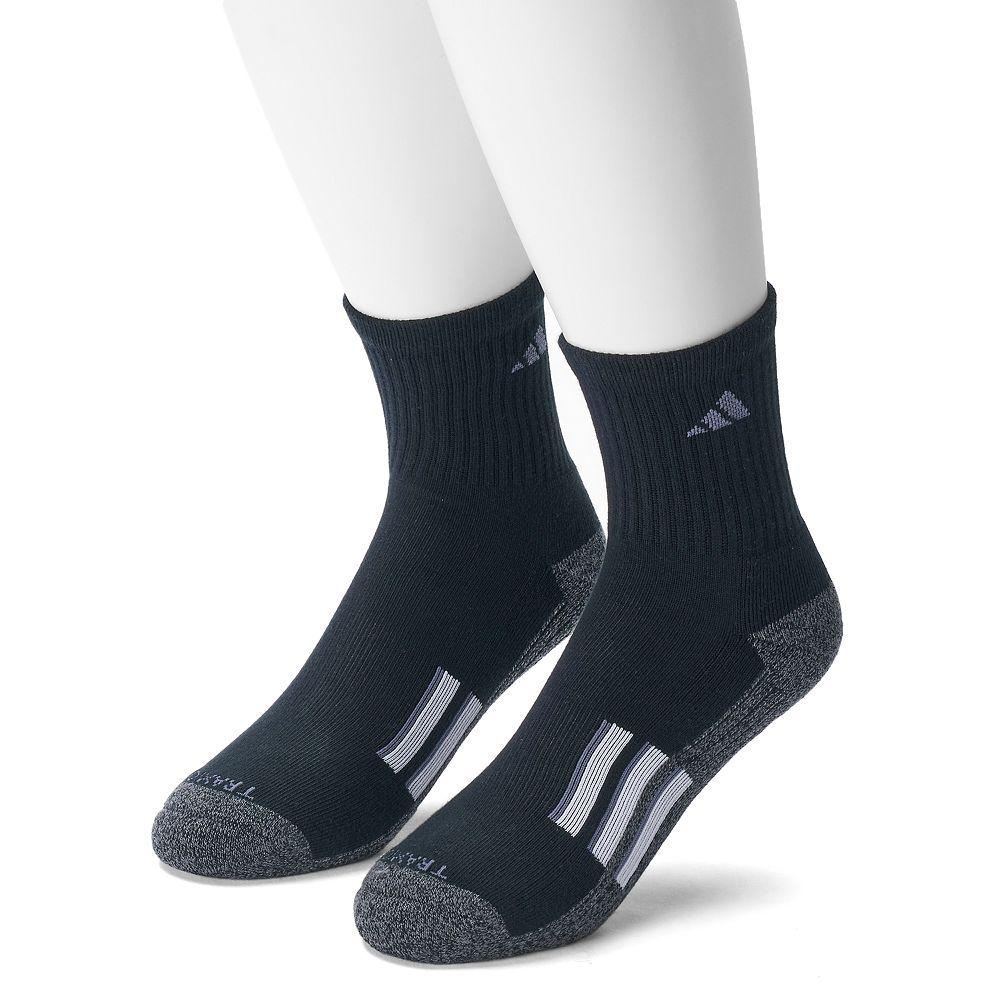 Men's adidas 2-pk. Climalite X Half-Crew Performance Socks