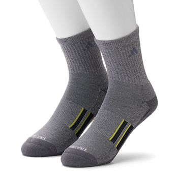 cheap for discount f8d89 36480 Mens adidas 2-pk. Climalite X Half-Crew Performance Socks