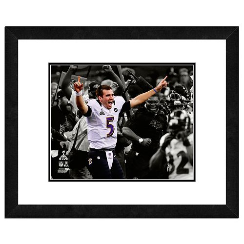 "Baltimore Ravens Joe Flacco Framed 11"" x 14"" Player Photo"