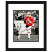"New EnglandPatriots Tom Brady Framed 14"" x 11"" Player Photo"