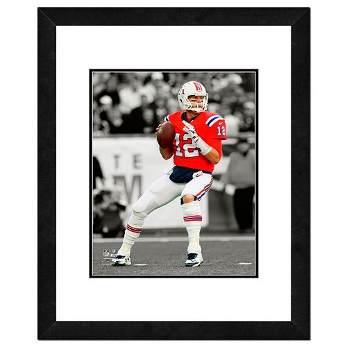 New England Patriots Tom Brady Framed 14