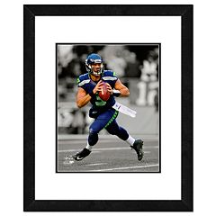 Seattle Seahawks Russell Wilson Framed 14' x 11' Player Photo