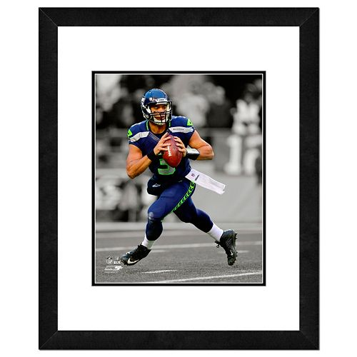 "Seattle Seahawks Russell Wilson Framed 14"" x 11"" Player Photo"