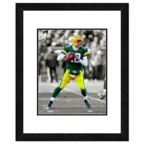 "Green Bay Packers Aaron Rodgers Framed 14"" x 11"" Player Photo"