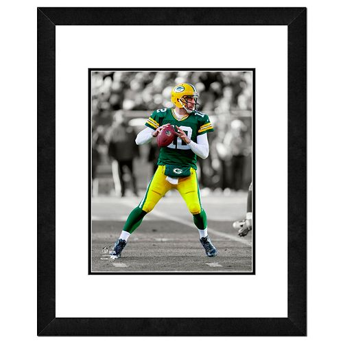 Green Bay Packers Aaron Rodgers Framed 14