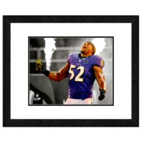 "Baltimore Ravens Ray Lewis Framed 11"" x 14"" Player Photo"