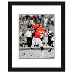 Denver Broncos Peyton Manning Framed 14' x 11' Player Photo