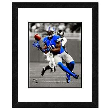 Detroit Lions Calvin Johnson Framed 14