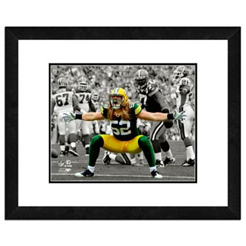 Green Bay Packers Clay Matthews Framed 11