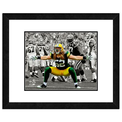 Green Bay Packers Clay Matthews Framed 11 x 14 Player Photo
