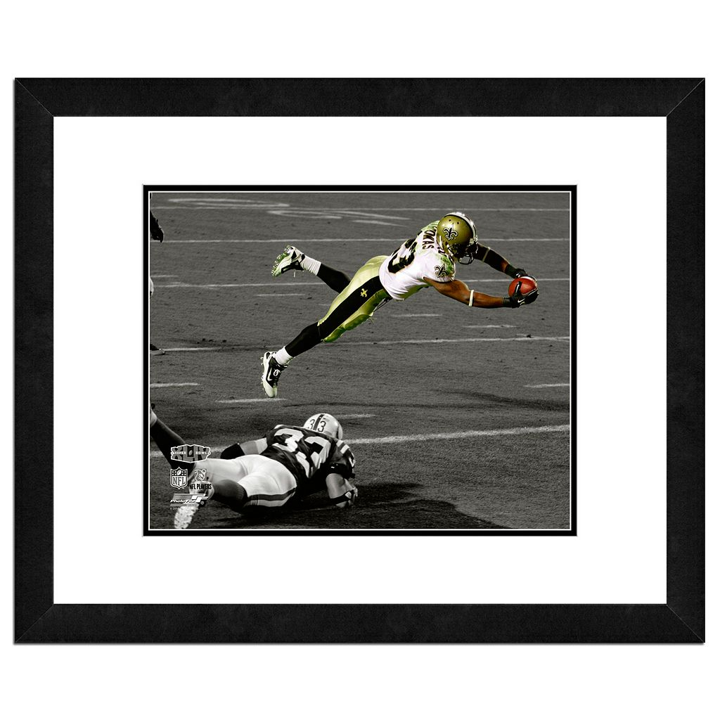 New Orleans Saints Pierre Thomas Framed 11