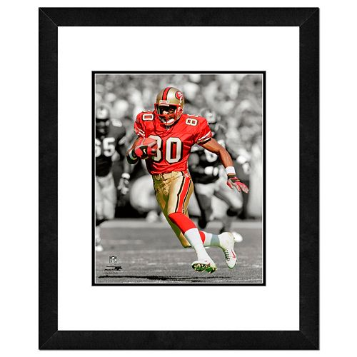 """San Francisco 49ers Jerry Rice Framed 14"""" x 11"""" Player Photo"""