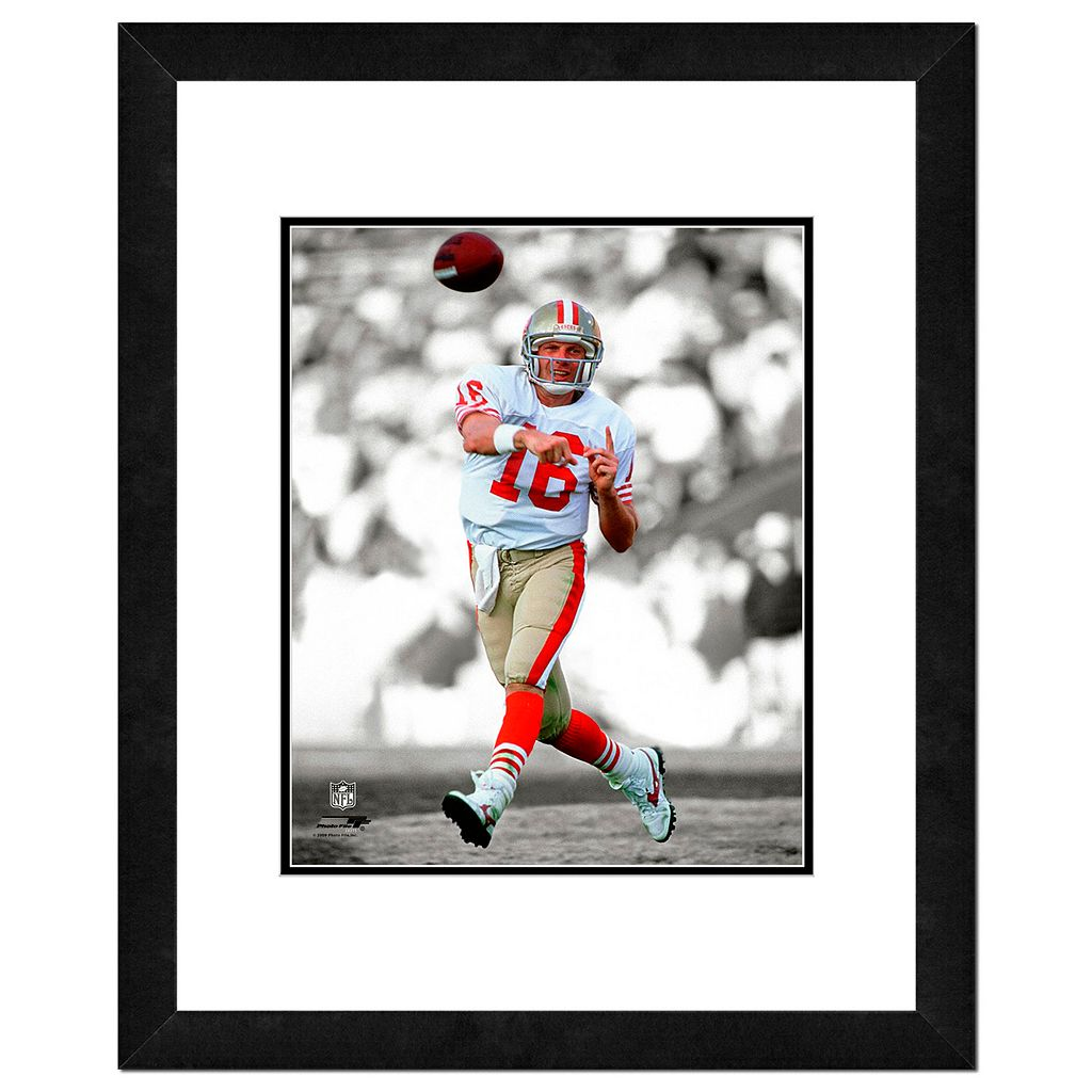 San Francisco 49ers Joe Montana Framed 14