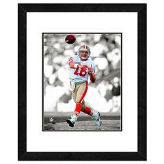 San Francisco 49ers Joe Montana Framed 14' x 11' Player Photo