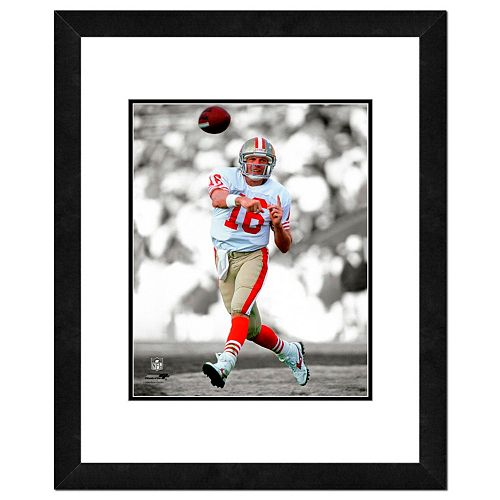 "San Francisco 49ers Joe Montana Framed 14"" x 11"" Player Photo"