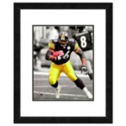 """Pittsburgh Steelers Jerome Bettis Framed 14"""" x 11"""" Player Photo"""