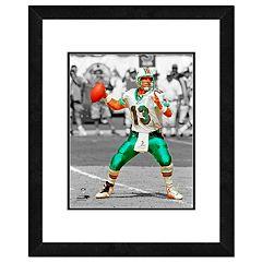 Miami Dolphins Dan Marino Framed 14' x 11' Player Photo