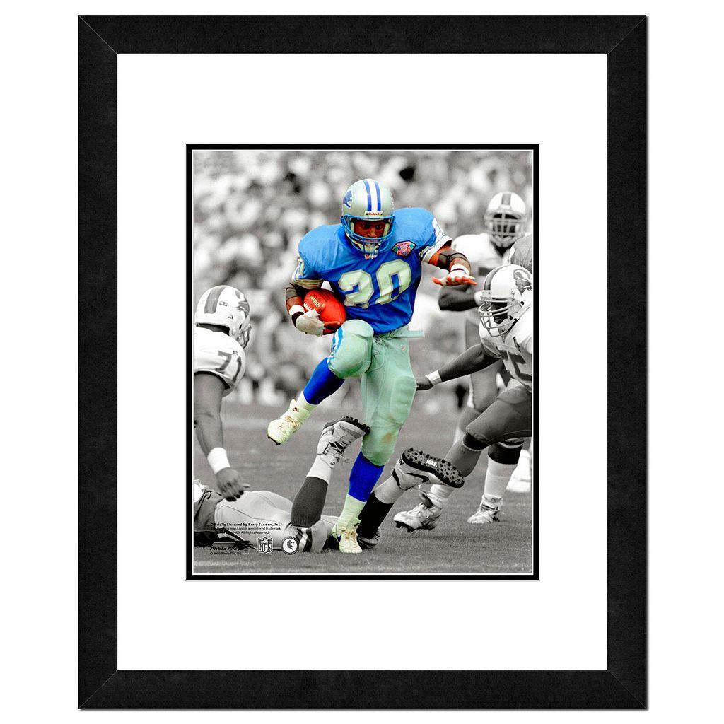 Detroit Lions Barry Sanders Framed 14