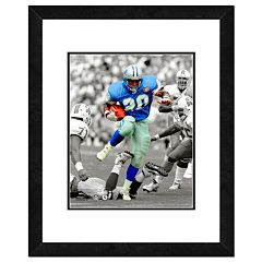 Detroit Lions Barry Sanders Framed 14' x 11' Player Photo