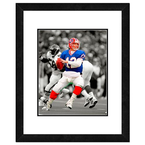 "Buffalo Bills Jim Kelly Framed 14"" x 11"" Player Photo"