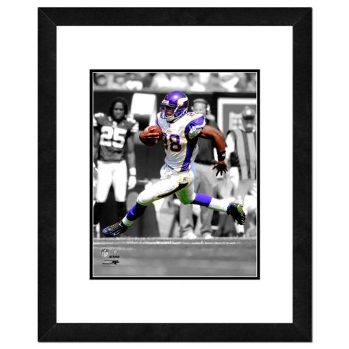 Minnesota Vikings Adrian Peterson Framed 14'' x 11'' Player Photo