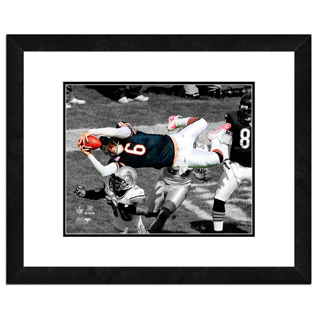 Chicago Bears Jay Cutler Framed 11