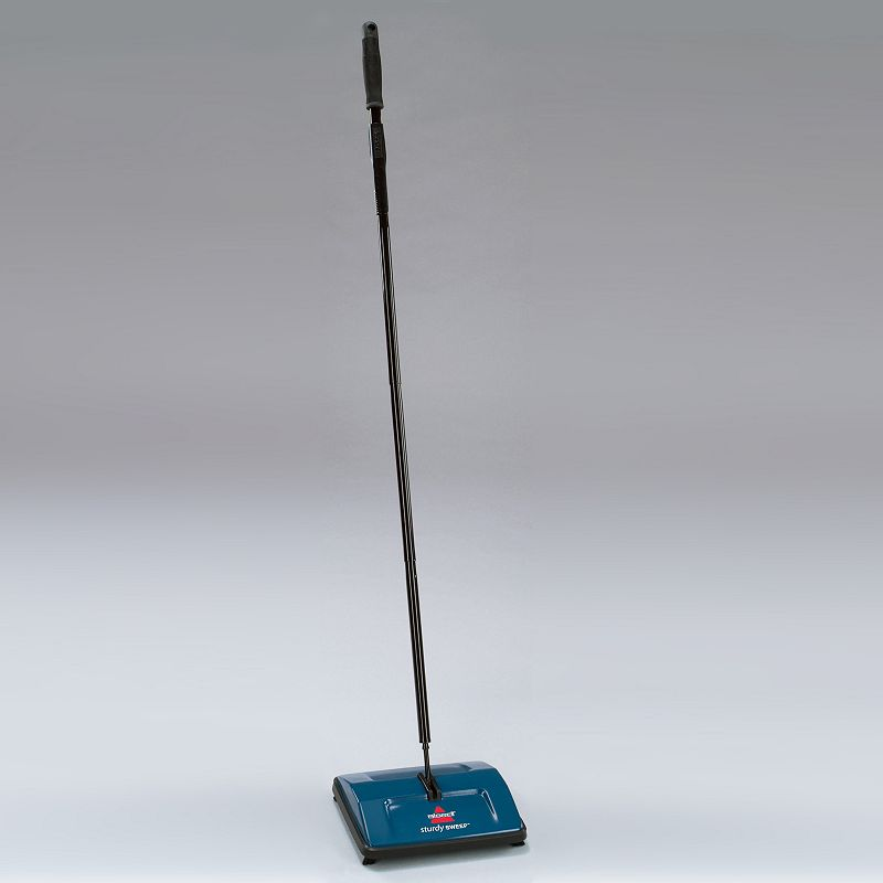 Bissell Sturdy Sweep Carpet and Floor Sweeper, Blue