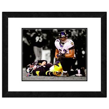 Baltimore Ravens Ray Lewis Framed 11