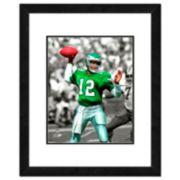 """Philadelphia Eagles Randall Cunningham Framed 14"""" x 11"""" Player Photo"""