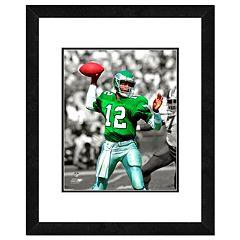 Philadelphia Eagles Randall Cunningham Framed 14' x 11' Player Photo