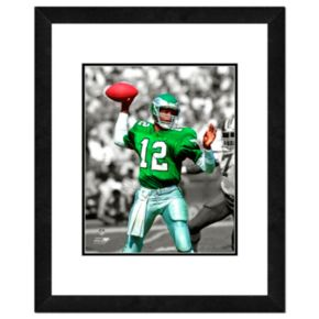 Philadelphia Eagles Randall Cunningham Framed 14'' x 11'' Player Photo