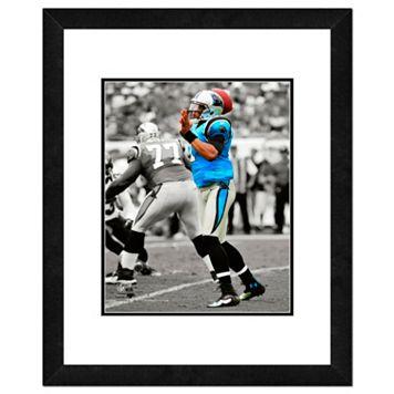 Carolina Panthers Cam Newton Framed 14