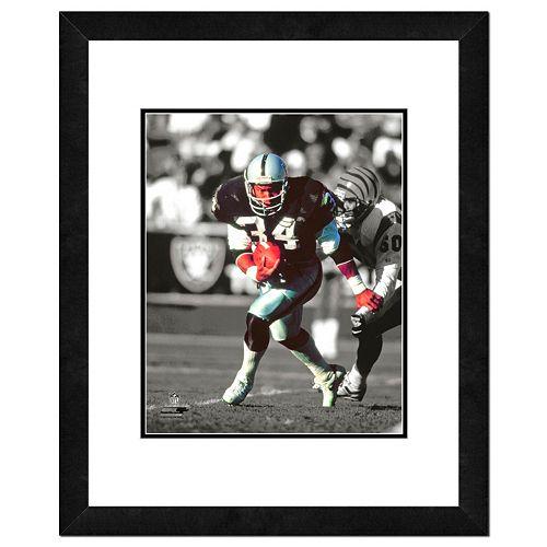Los Angeles Raiders Bo Jackson Framed 14