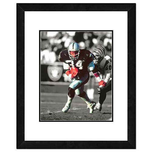 "Los Angeles Raiders Bo Jackson Framed 14"" x 11"" Player Photo"