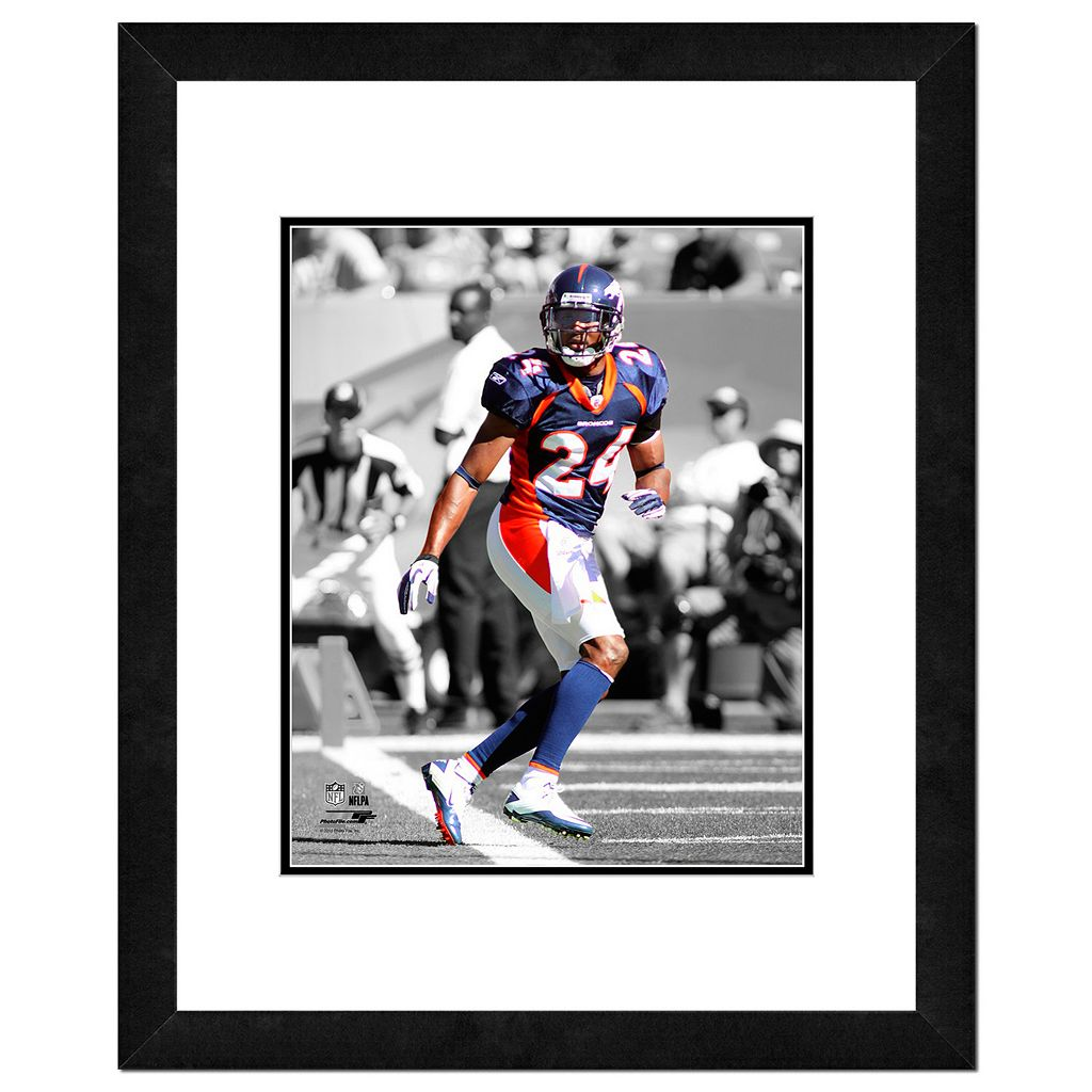 Denver Broncos Champ Bailey Framed 14
