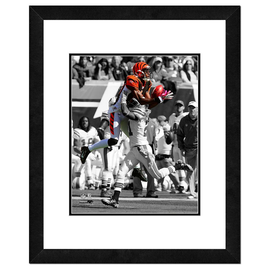 Cincinnati Bengals AJ Green Framed 14
