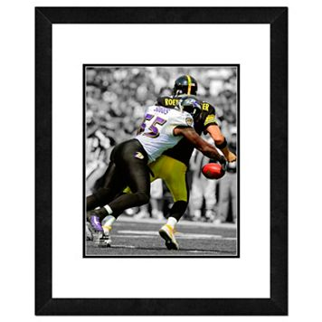 Baltimore Ravens Terrell Suggs Framed 14