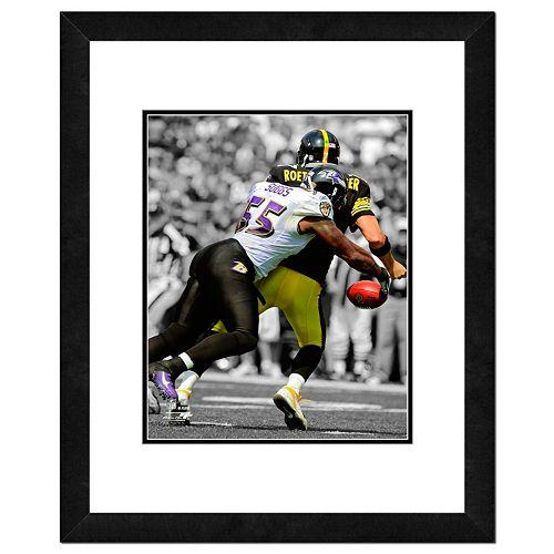 Baltimore Ravens Terrell Suggs Framed 14