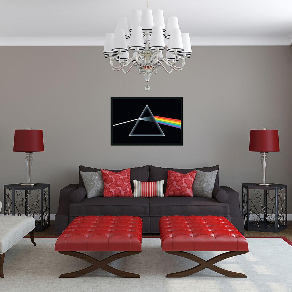 Pink Floyd - Dark Side of the Moon Framed Wall Art