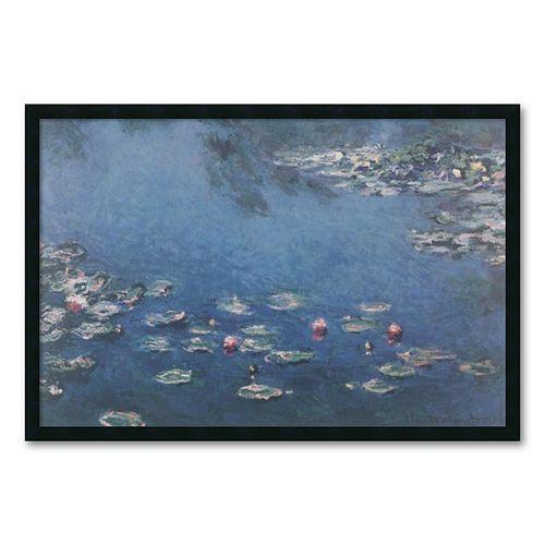 """""""Waterlillies"""" Framed Wall Art by Claude Monet"""