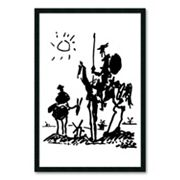'Don Quixote' Framed Wall Art by Pablo Picasso