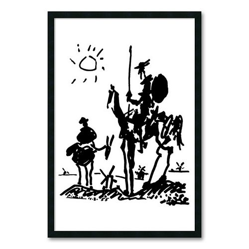 """Don Quixote"" Framed Wall Art by Pablo Picasso"
