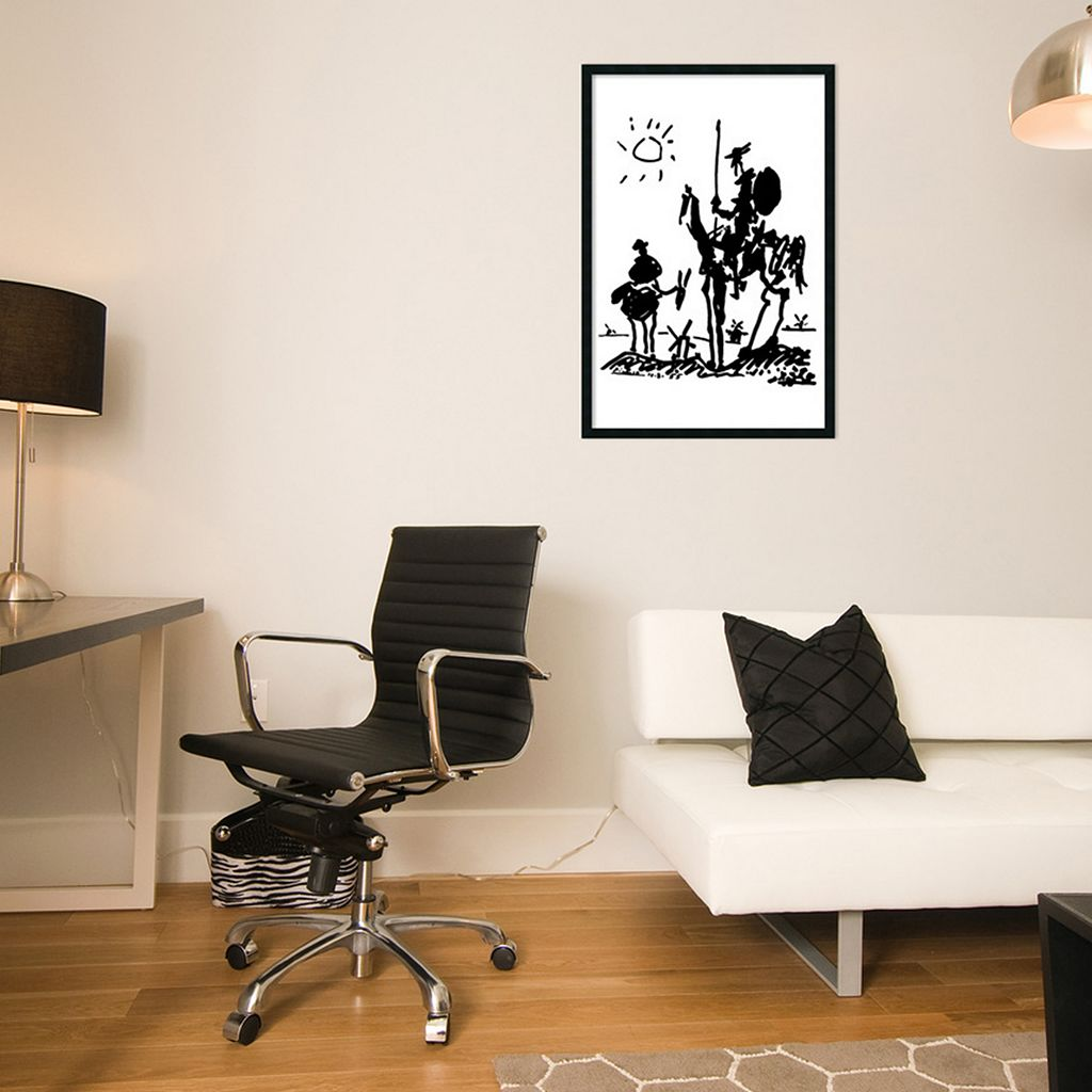 Don Quixote Framed Wall Art by Pablo Picasso