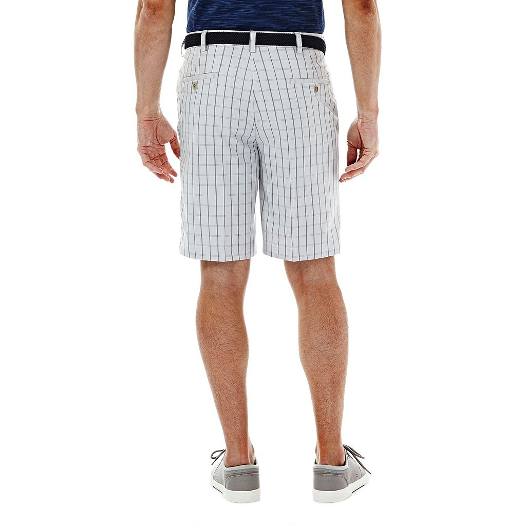 Men's Haggar® Cool 18® Windowpane Performance Shorts