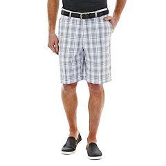 Men's Haggar® Cool 18® Plaid Performance Shorts