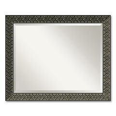 Intaglio Beveled Wall Mirror - Large