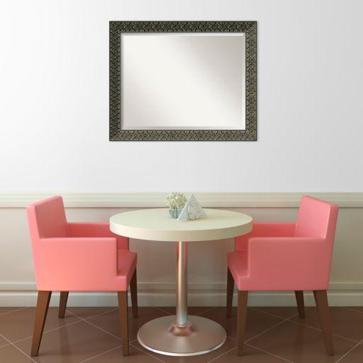 Intaglio Beveled Wall Mirror - Large
