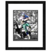 "Dallas Cowboys Deion Sanders Framed 14"" x 11"" Player Photo"